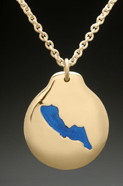 mj harrington jewelers nh blaisdell lake custom necklace pendant gold