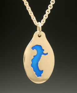 mj harrington jewelers nh gregg lake antrim custom necklace pendant gold
