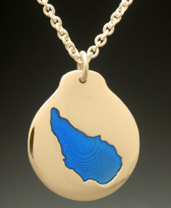 mj harrington jewelers nh lake massasecum bradford custom necklace pendant gold