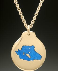 mj harrington jewelers nh lake wentworth wolfeboro custom necklace pendant gold