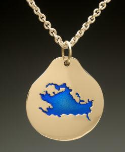 mj harrington jewelers nh lake winnipesaukee laconia custom necklace pendant gold