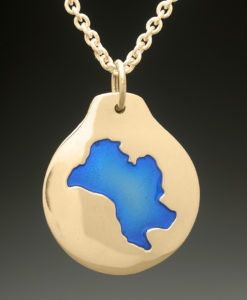 mj harrington jewelers nh mirror lake tuftonboro custom necklace pendant gold