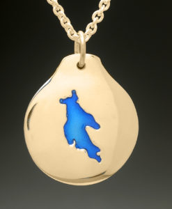 mj harrington jewelers nh newfound lake bridgewater custom necklace pendant gold