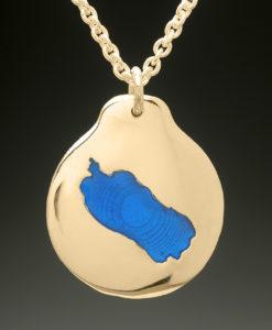 mj harrington jewelers nh pleasant lake new london custom necklace pendant gold