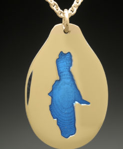 mj harrington jewelers nh silver lake madison custom necklace pendant gold