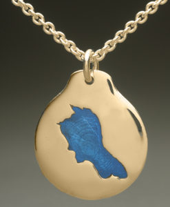 mj harrington jewelers nh upper suncook lake custom necklace pendant gold
