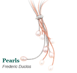 Frederic Duclos Pearl Lariat