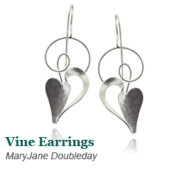 MaryJane Double Day Vine Earrings