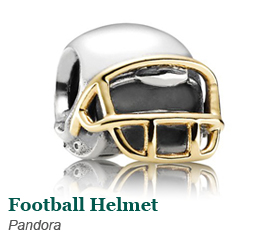 Pandora Football Helmet