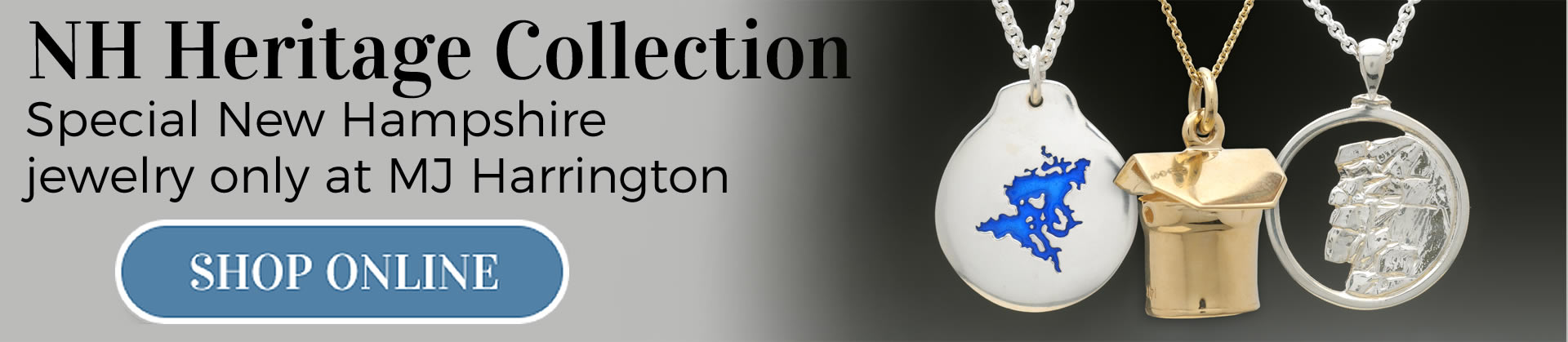 MJ Harrington Jewelers NH Heritage Collection Shop Online mobile