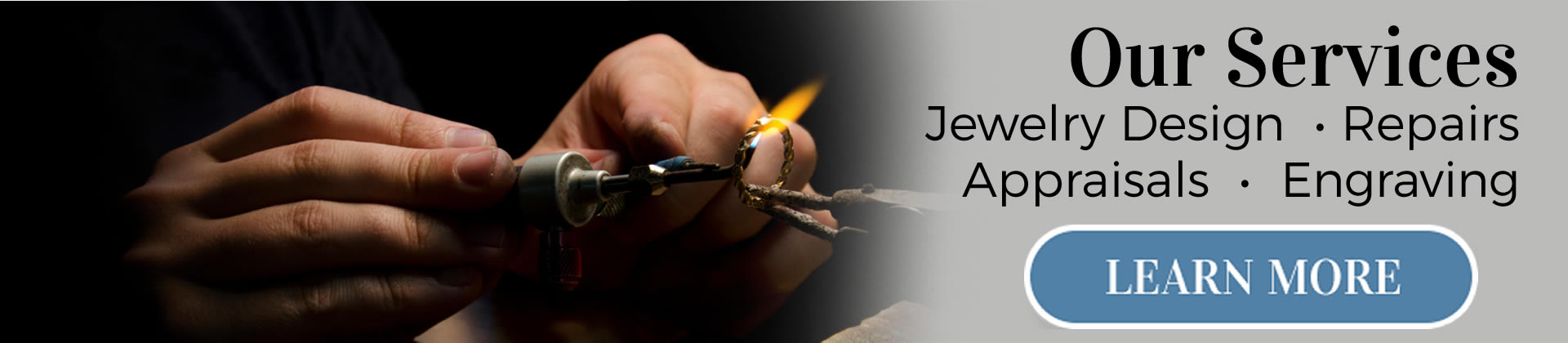 MJ Harrington Jewelers Our Services mobile
