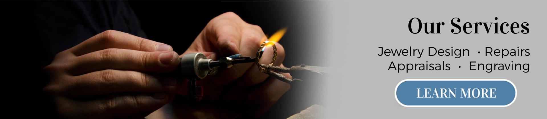 MJ Harrington Jewelers Our Services
