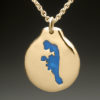 mj harrington jewelers nh baboosic lake custom necklace gold