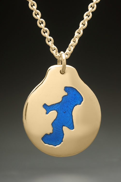 mj harrington jewelers nh canobie lake custom necklace gold