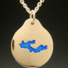 mj harrington jewelers nh crescent lake acworth custom necklace pendant gold