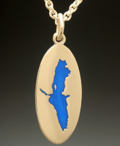 mj harrington jewelers nh eastman pond grantham custom necklace pendant gold