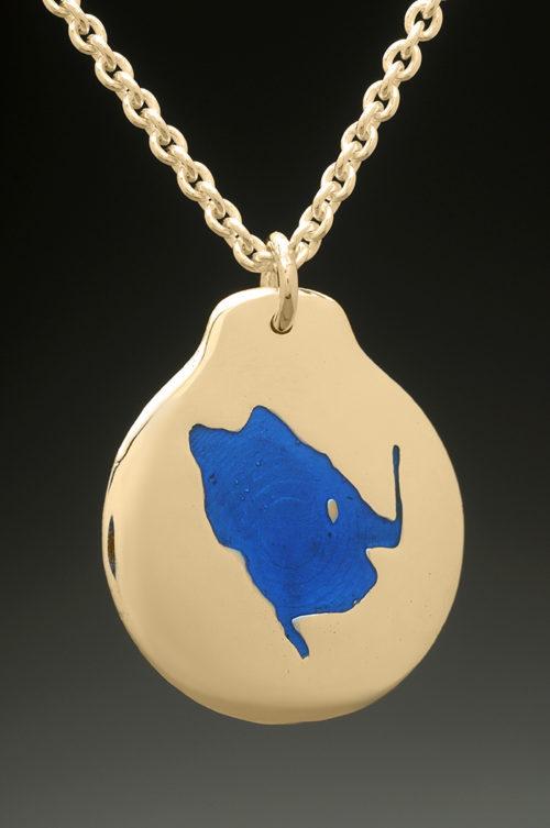 mj harrington jewelers nh highland lake andover custom necklace pendant gold