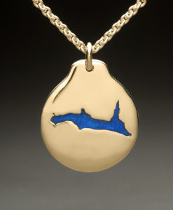 mj harrington jewelers nh lake francis pittsburg custom necklace pendant gold