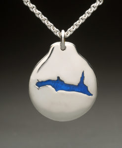 mj harrington jewelers nh lake francis pittsburg custom necklace pendant silver