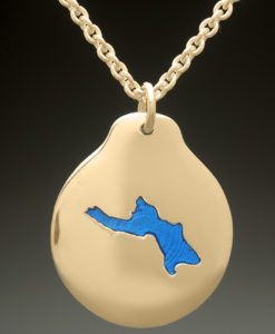 mj harrington jewelers nh lake kanasatka moultonboro custom necklace pendant gold