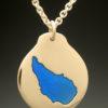 mj harrington jewelers nh lake massasecum bradford custom necklace pendant gold