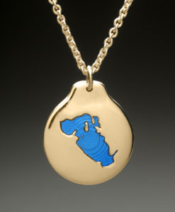 mj harrington jewelers nh lake waukewan meredith custom necklace pendant gold