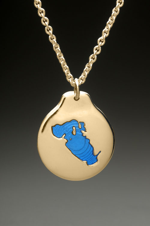 mj harrington jewelers nh lake waukewan meredith custom necklace pendant gold