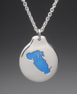 mj harrington jewelers nh lake waukewan meredith custom necklace pendant silver