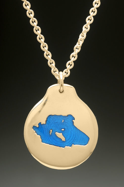 mj harrington jewelers nh lake wentworth wolfeboro custom necklace pendant gold