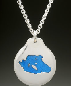 mj harrington jewelers nh lake wentworth wolfeboro custom necklace pendant silver