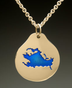 mj harrington jewelers nh lake winnipesaukee laconia custom necklace pendant gold