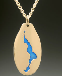 mj harrington jewelers nh lake winnisquam sanbornton custom necklace pendant gold