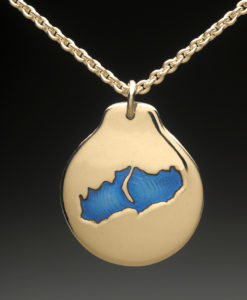 mj harrington jewelers nh little lake sunapee new london custom necklace pendant gold