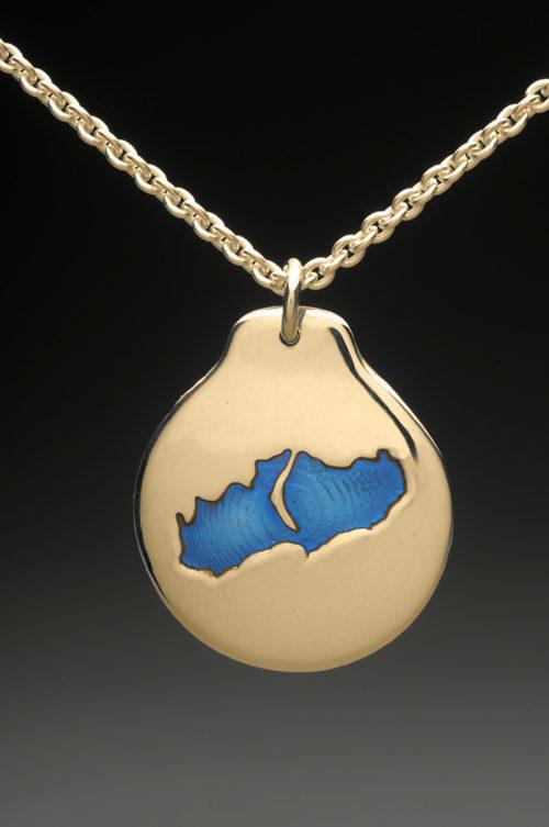 mj harrington jewelers nh little lake sunapee new london custom necklace pendant gold
