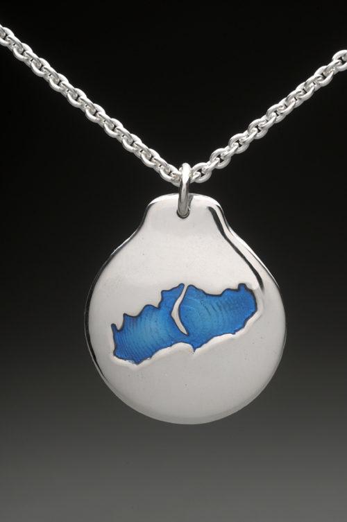 mj harrington jewelers nh little lake sunapee new london custom necklace pendant silver