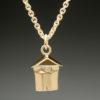 mj harrington jewelers nh maple syrup sap bucket jewelry necklace flat gold