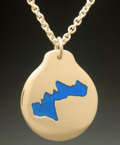 mj harrington jewelers nh merrymeeting lake new durham custom necklace pendant gold