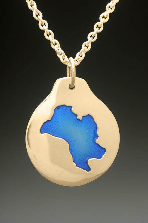 mj harrington jewelers nh mirror lake tuftonboro custom necklace pendant gold