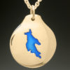 mj harrington jewelers nh newfound lake bridgewater custom necklace pendant gold