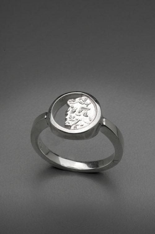 mj harrington jewelers nh old man of the mountain jewelry ring silver
