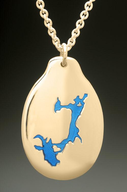 mj harrington jewelers nh pawtuckaway lake nottingham custom necklace pendant gold