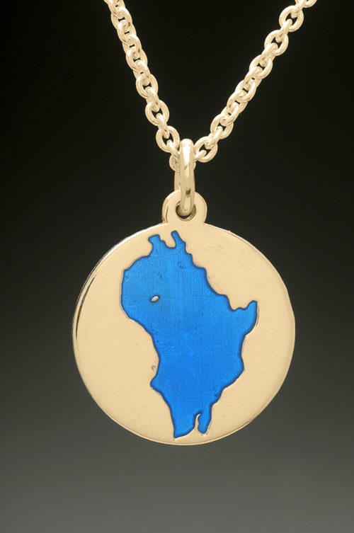 mj harrington jewelers nh perkins pond sunapee custom necklace pendant gold