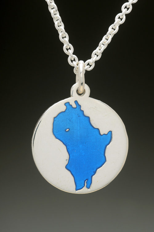 mj harrington jewelers nh perkins pond sunapee custom necklace pendant silver