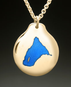 mj harrington jewelers nh spofford lake chesterfield custom necklace pendant gold