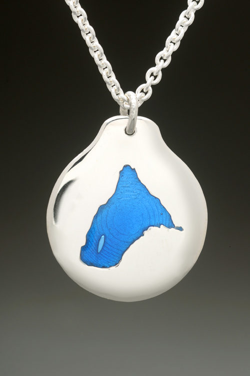 mj harrington jewelers nh spofford lake chesterfield custom necklace pendant silver