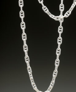 mj harrington jewelers nh traversino link chain necklace silver